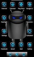 Screenshot of ADW Theme Droid Moonglow