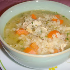 Scarborough Fair Chicken Barley Soup