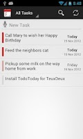 Screenshot of TodoToday for TeuxDeux