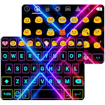 Electric Neon Emoji Keyboard 1.7 Apk