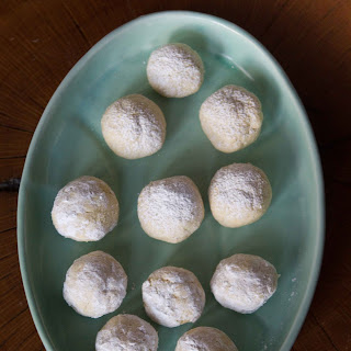 Spiced Mexican Wedding Cookies
