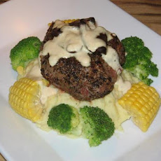 Sirloin With Creamy Pepper Sauce