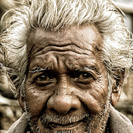 by Prasun Sardar - People Portraits of Men ( face, photography, closeup, close, up )