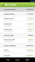Screenshot of Fortuneo Budget
