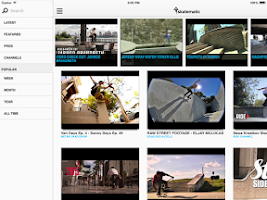 Screenshot of Skatematic Skateboard Videos