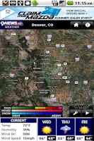 Screenshot of 9NEWS WX