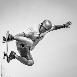 Flying Peter by Jason Green - Sports & Fitness Skateboarding ( staugustine, skateboarding, skate, saint augustine, local )