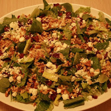 Cranberry, Feta and Roasted Walnut Salad