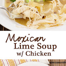 Mexican Lime Chicken Soup