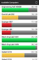 Screenshot of UIUC EWS Labs