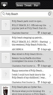 Folly Beach Business Assoc. - screenshot