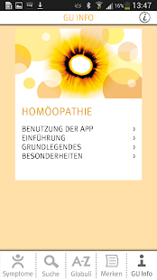GU-Homöopathie screenshot for Android