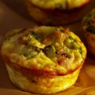 Artichoke and Feta Cheese Souffle