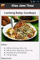 Screenshot of Resep Masakan Jawa Timur