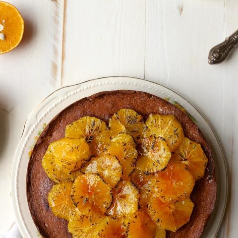 Brulee Orange And Cream Cheese Pound Cake
