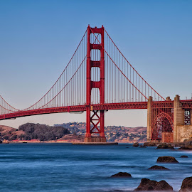 Petit souvenir de San Francisco by Dave Dupéré - Buildings & Architecture Bridges & Suspended Structures