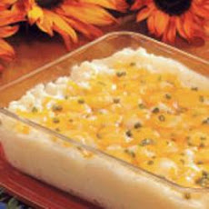 Three-Cheese Potato Bake