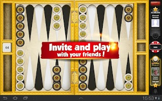 Screenshot of Backgammon with Buddies