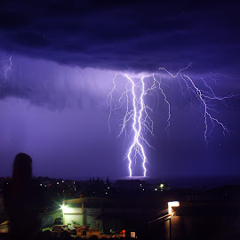 Lightning by Peter Litavsky - Nature Up Close Other Natural Objects
