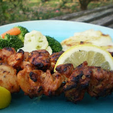 Turkish Chicken Kebabs With Aleppo Pepper
