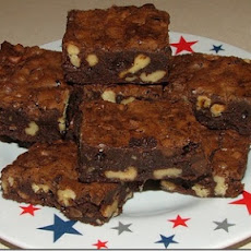 No Bake Fudge Brownies