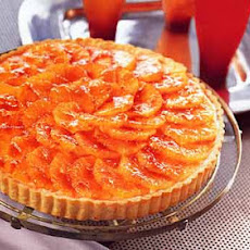Blood Orange Tart with Cardamom Pastry Cream