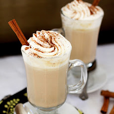 Pumpkin Spice White Hot Chocolate
