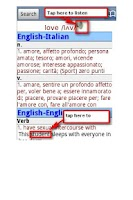 Screenshot of English Italian Dictionary Pro