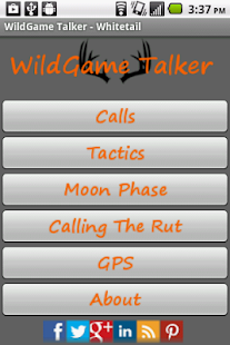 WildGame Talker - Whitetail - screenshot