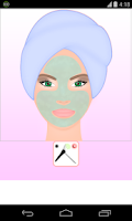 Screenshot of spa facial games
