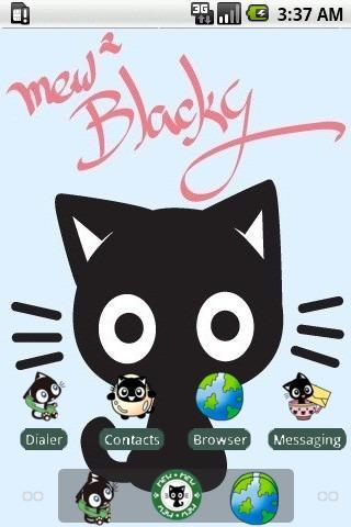 Blacky Mew Mew [SQTheme] ADW