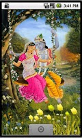 Screenshot of Divine Love Radha Krishna Free