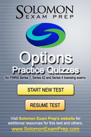 Options - Practice Quizzes