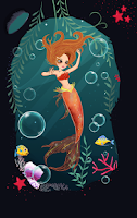 Screenshot of Little Mermaid Dress Up
