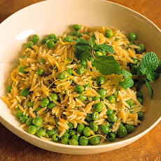 Orzo with Peas and Mint