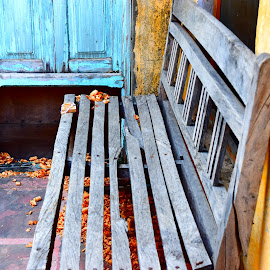 Old Bench by Ashray Kuthiala - Artistic Objects Furniture