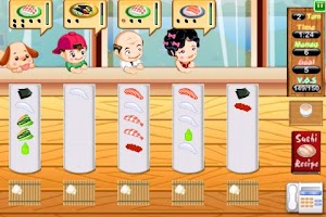 Screenshot of Sushi Dash Lite