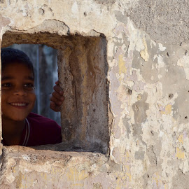 A smile is a heeler for wounds and a weapon against hatred by DIKSHA ARYA - People Street & Candids