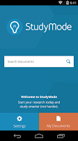 Screenshot of StudyMode