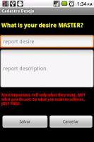 Screenshot of Genio Wishes