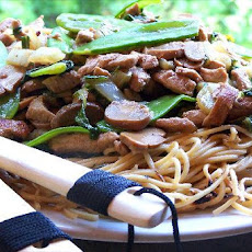 Chow Mein With Shrimp and Pork