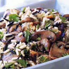 Wild Rice Stuffing with Pearl Onions, Dried Cherries and Apricots