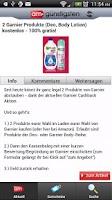 Screenshot of Am Günstigsten Schnäppchen App