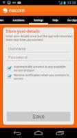 Screenshot of eircom WiFiHub