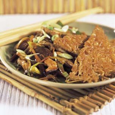 Hoisin Chicken with Crisp Yakisoba