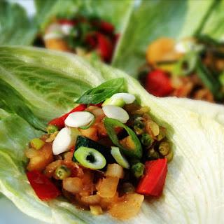 Vegetarian Lettuce Cups Recipes