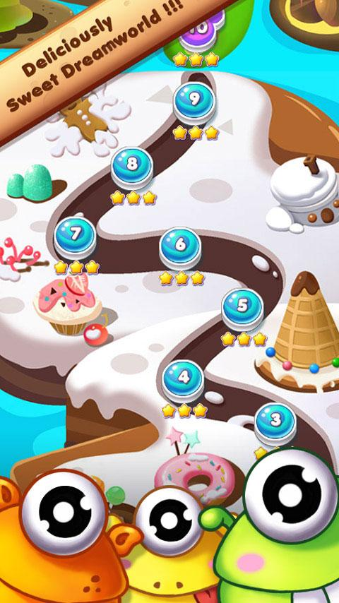 Cookie Mania - Halloween Sweet Game Screenshot 4
