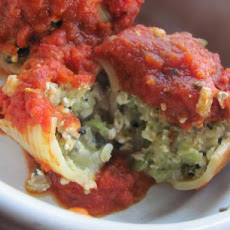 Veggie Stuffed Shells (Vegan)