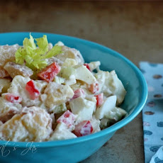No Peel Red Potato Salad