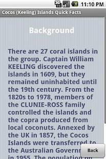 Cocos/Keeling Islands Facts - screenshot